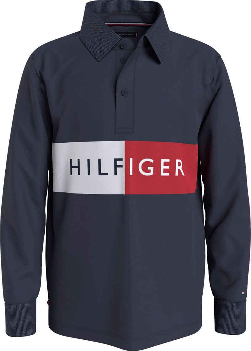 Tommy Hilfiger Langarm-Poloshirt »mehrfarbig«