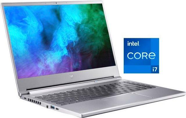 Acer Predator Triton 300SE PT314-51s-70CS Notebook 35,56 cm 14 Zoll, Intel Core i7, GeForce RTX 3060, 1000 GB SSD, Kostenloses Upgrade auf Windows 11, sobald verfügbar