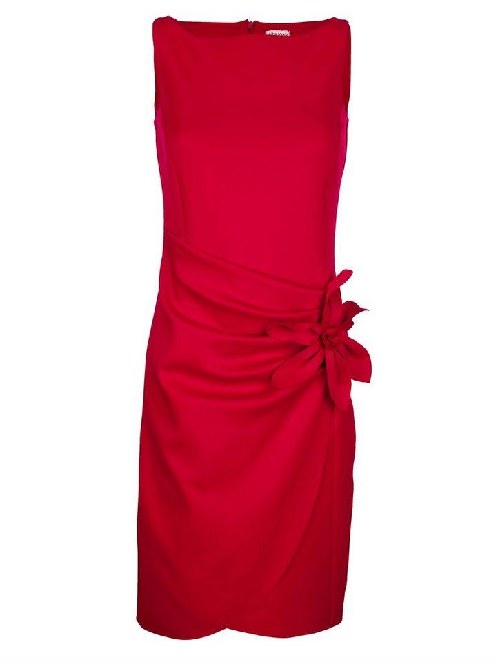 alba moda -  Kleid mit Blumen- Applikation