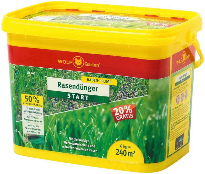 WOLF-Garten Rasendünger »LH 240 START«, 6 kg