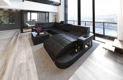 Sofa Dreams Sofa »Wave«, U Form