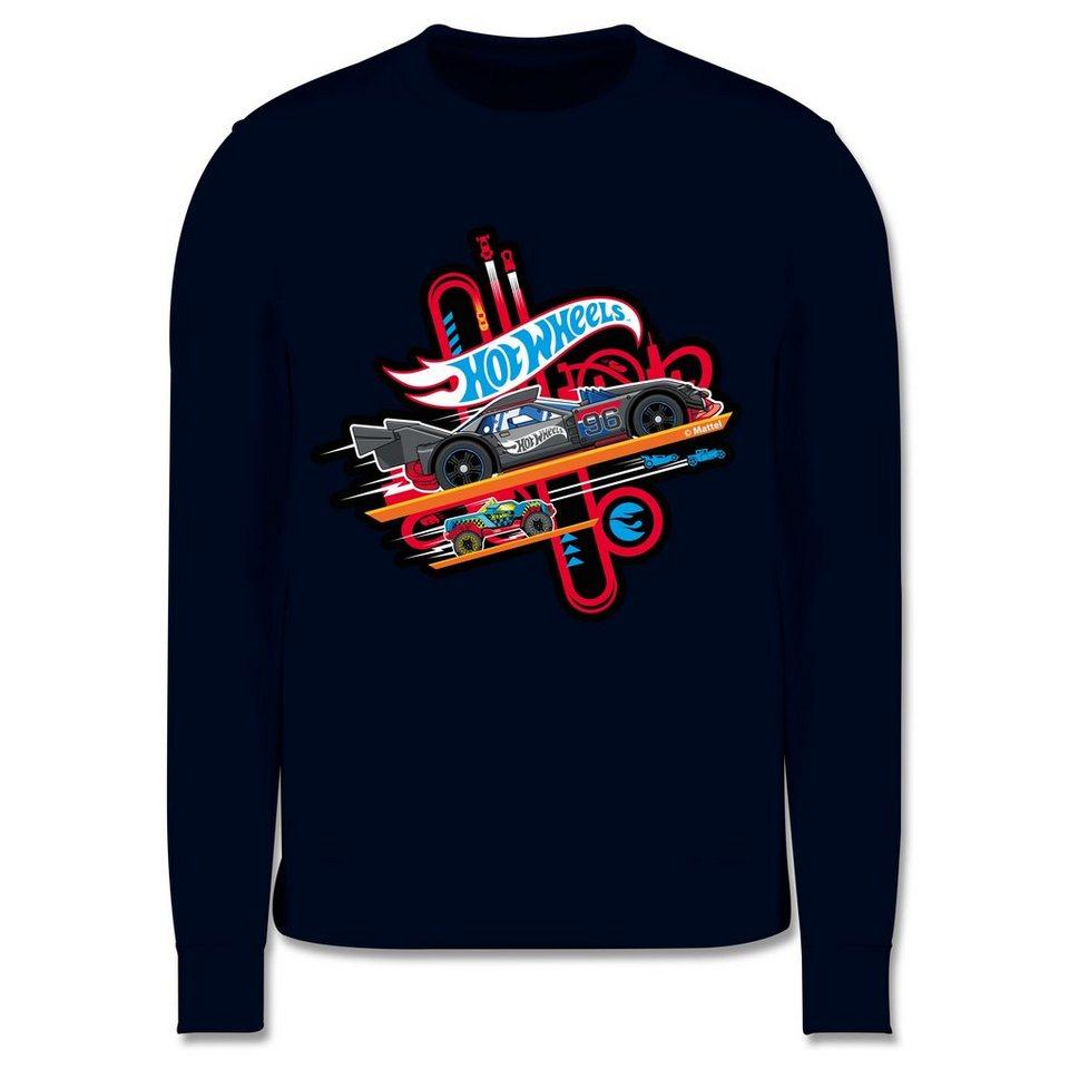 shirtracer sweatshirt »rennautos  kinder premium pullover
