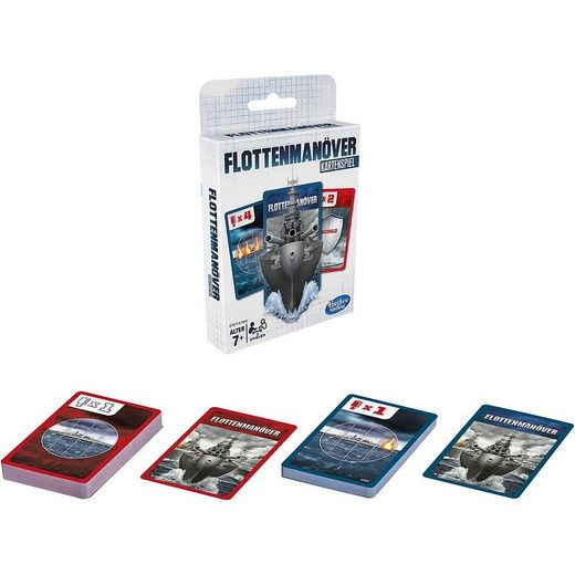 Hasbro Spiel, »Flottenmanöver Kartenspiel«