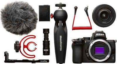 Nikon »Z50 DX 16-50 mm 1:3.5-6.3 VR Vlogger Kit« Systemkamera (DX 16-50 mm 1:3.5-6.3 VR, 20,9 MP, Bluetooth, WLAN (WiFi)