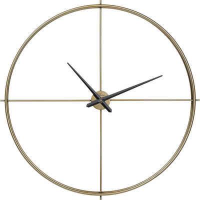 KARE Uhr »Wanduhr Simple Pure Brass 95cm«