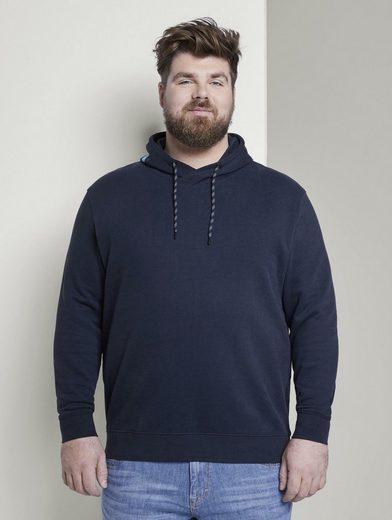 TOM TAILOR Men Plus Kapuzensweatshirt »Hoodie mit Kapuzen-Print«
