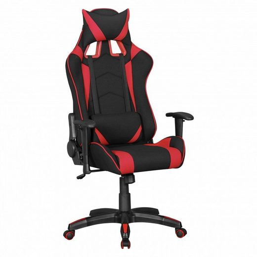 FINEBUY Gaming Chair »SuVa6262_1«, Bürostuhl SCORE Schreibtischstuhl Race Chefsessel verstellbar Gaming Chair Drehstuhl Sport Racing Optik