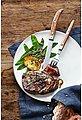 WMF Steakbesteck »Ranch«, Cromargan Edelstahl 18/10 mattiert, Eichenholz geölt, 12-teilig, Bild 9