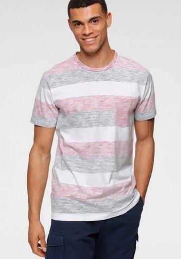 Jack & Jones T-Shirt »STRIPE TEE CREW NECK«