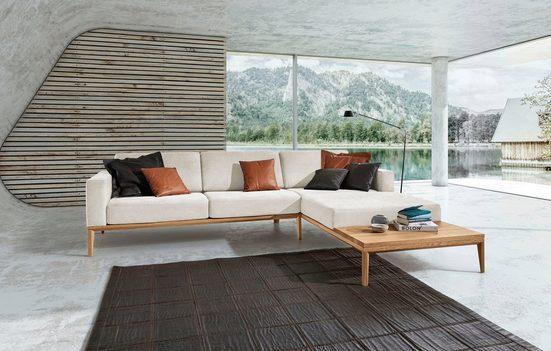 ADA premium Ecksofa »Trentino«, mit integrierte Ablagefläche