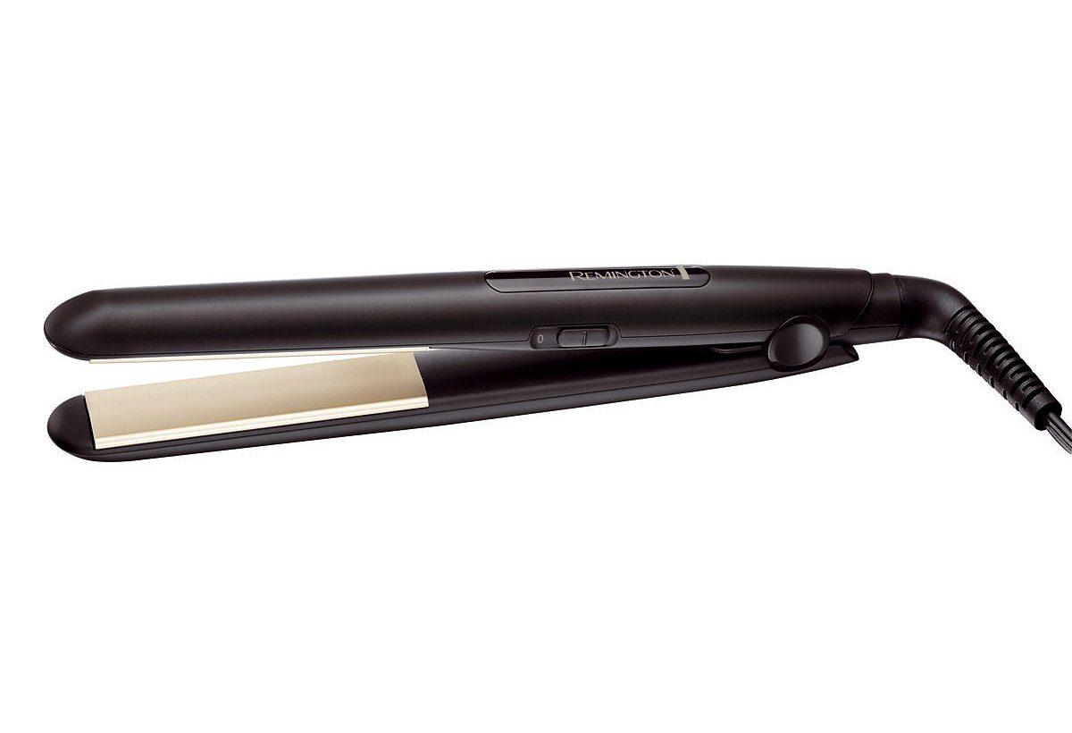Remington Haarglätter REMINGTON Ceramic Slim Haarglätter S1510, mit 4-facher Schutzwirkung für ein schonendes Styling und extra Glanz