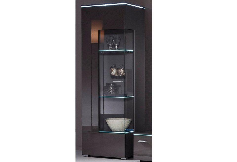 vitrine h he 148 cm online kaufen otto. Black Bedroom Furniture Sets. Home Design Ideas