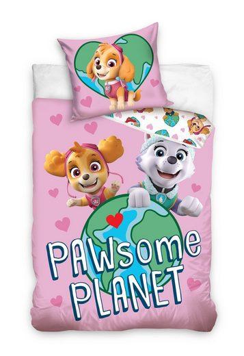 Kinderbettwäsche »Best Pups Ever«, PAW PATROL, Skye und Everst