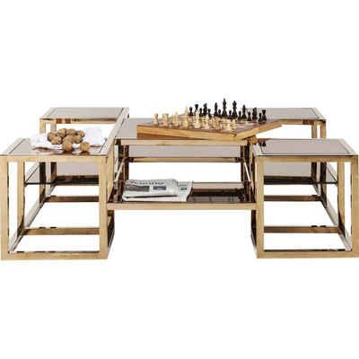 KARE Couchtisch »Couchtisch Steps Gold 120x120cm«