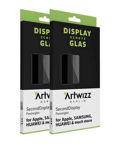 Artwizz Schutzfolie »Artwizz SecondDisplay (2er Pack) Schutzglas geeignet für iPhone 12 PRO MAX (6.7) - Displayschutz aus Panzerglas, 9H Schutzgrad, Hüllenfreundlich«, iPhone 12 Pro Max (6.7)