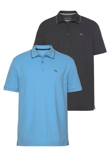 Man's World Poloshirt (Packung, 2er-Pack)