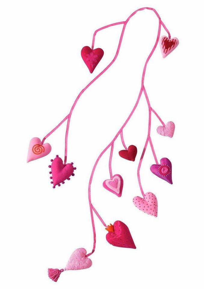 HABA® Kinderzimmerdekoration »Herzgirlande Pia«
