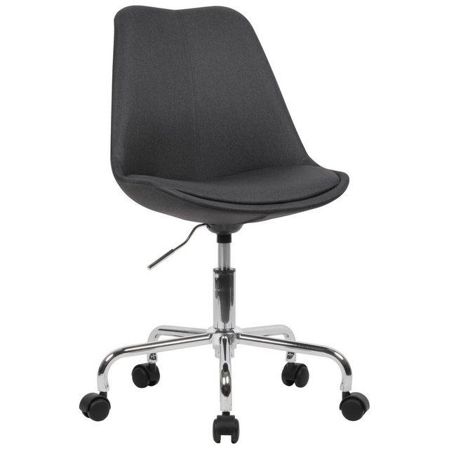 Stühle und Bänke - FINEBUY Drehstuhl »SuVa18965 1« Schreibtischstuhl Stoff Design Drehstuhl mit Lehne Arbeitsstuhl mit 110 kg Maximalbelastung Schalenstuhl mit Rollen Stuhl drehbar  - Onlineshop OTTO