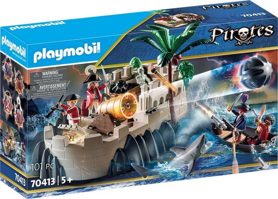 Playmobil® Konstruktions-Spielset »Rotrockbastion (70413), Pirates«, ; Made in Germany