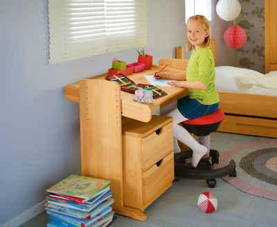BioKinder - Das gesunde Kinderzimmer Kinderschreibtisch »Julia«, 100x62 cm, höhenverstellbar von 54-73 cm