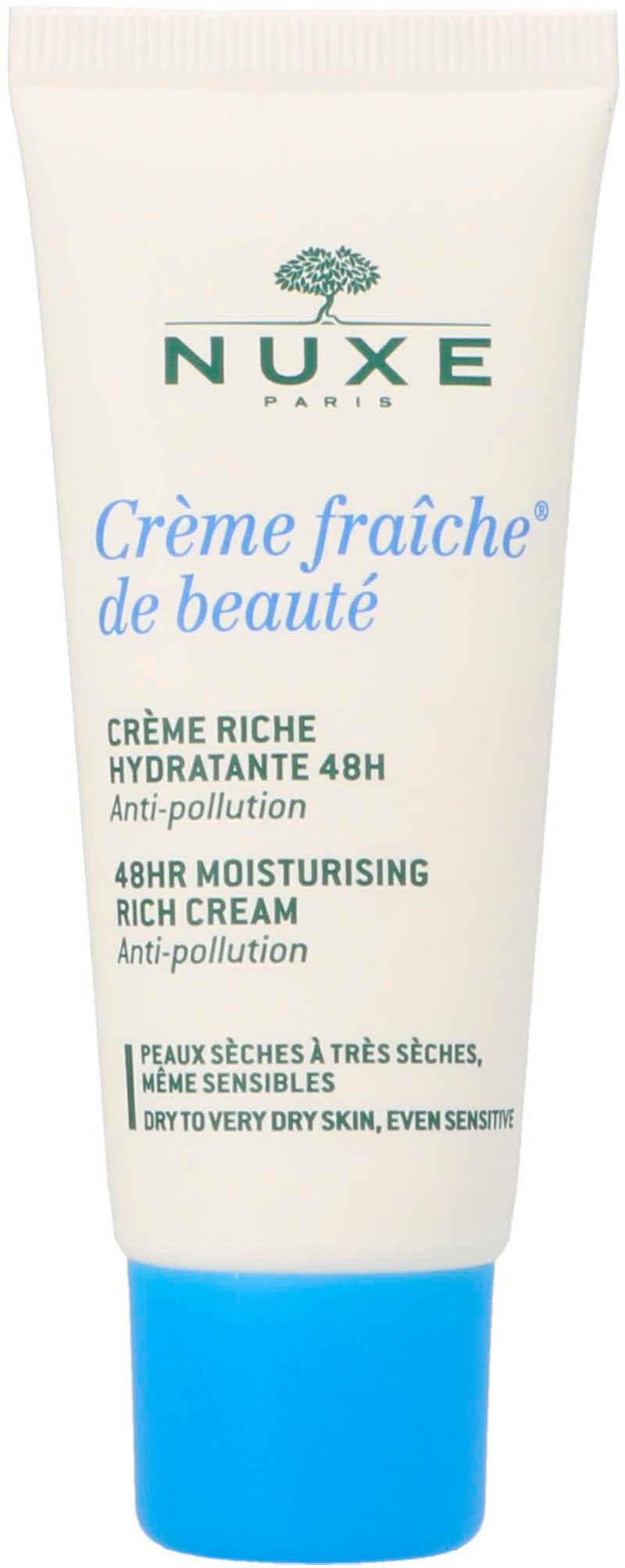 Nuxe Feuchtigkeitscreme »Crème Fraiche de beauté 48 HR Moisturising Rich Cream«