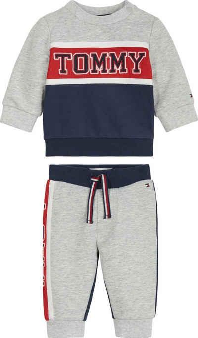 Tommy Hilfiger Shirt & Hose im coolen Colorblock-Design