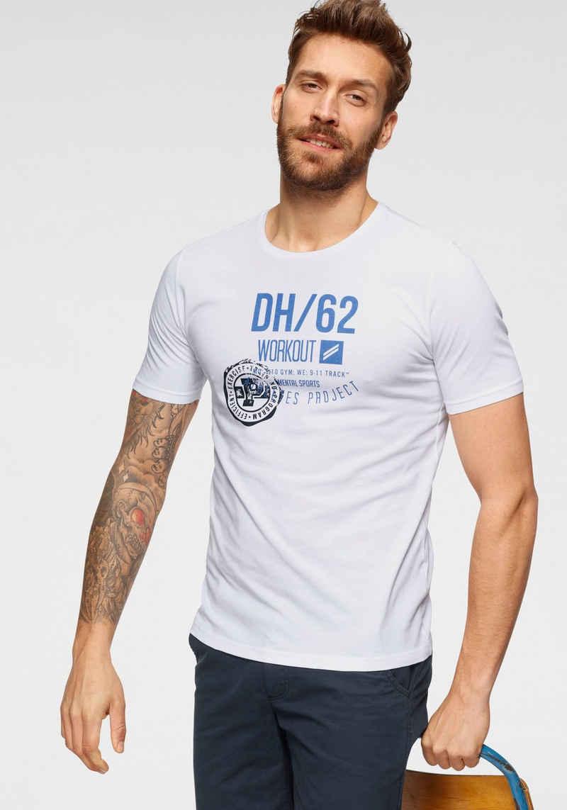Daniel Hechter T-Shirt »DH/62 WORKOUT«