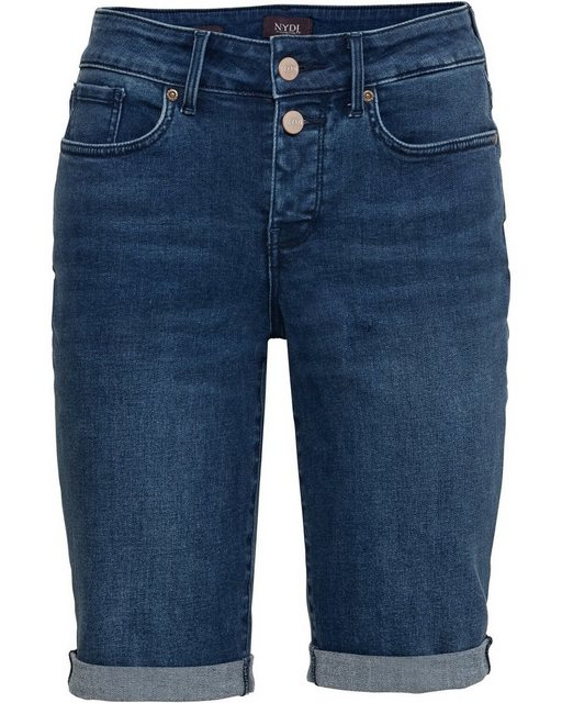 Hosen - NYDJ Jeansshorts »Bermuda Briella« › blau  - Onlineshop OTTO