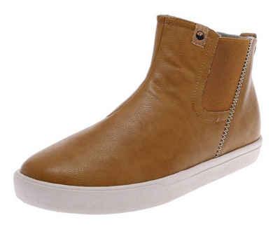 SAOLA »YAMBA Camel Damen Hi-Top Sneaker Braun« Sneaker VEGAN