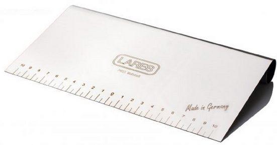 LARES Teigspachtel »6236, Teigkarte«, aus rostfreiem Edelstahl, 22 cm, Made in Germany