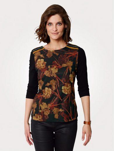 Mona Shirt mit Floraldruck vorne