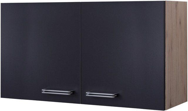 Küchenhängeschrank »Antigua«, Breite 100 cm | Küche und Esszimmer > Küchenschränke > Küchen-Hängeschränke | Grau | Flex-Well