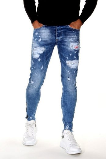 Bright Jeans Slim-fit-Jeans