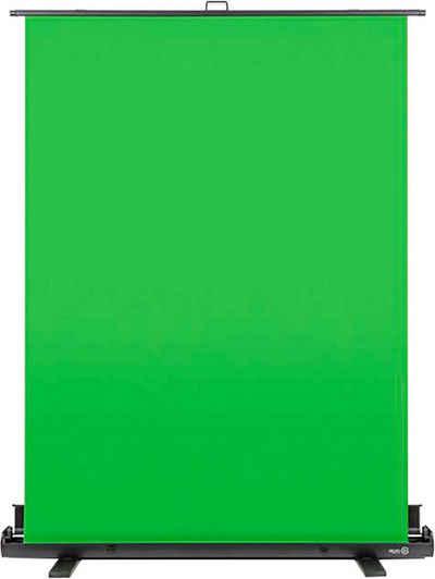 Elgato »Elgato Green Screen Polyester - 1.48 m x 1.8 m - Chroma-Key - Chromagreen« Pull-Up-Leinwand (Aluminiumkoffer)