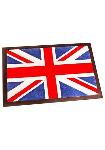HANSE HOME Durų kilimėlis »Union Jack« rechteckig...