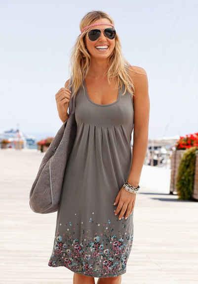 ce446c336d7a38 Beachtime Strandkleid mit Blumenprint
