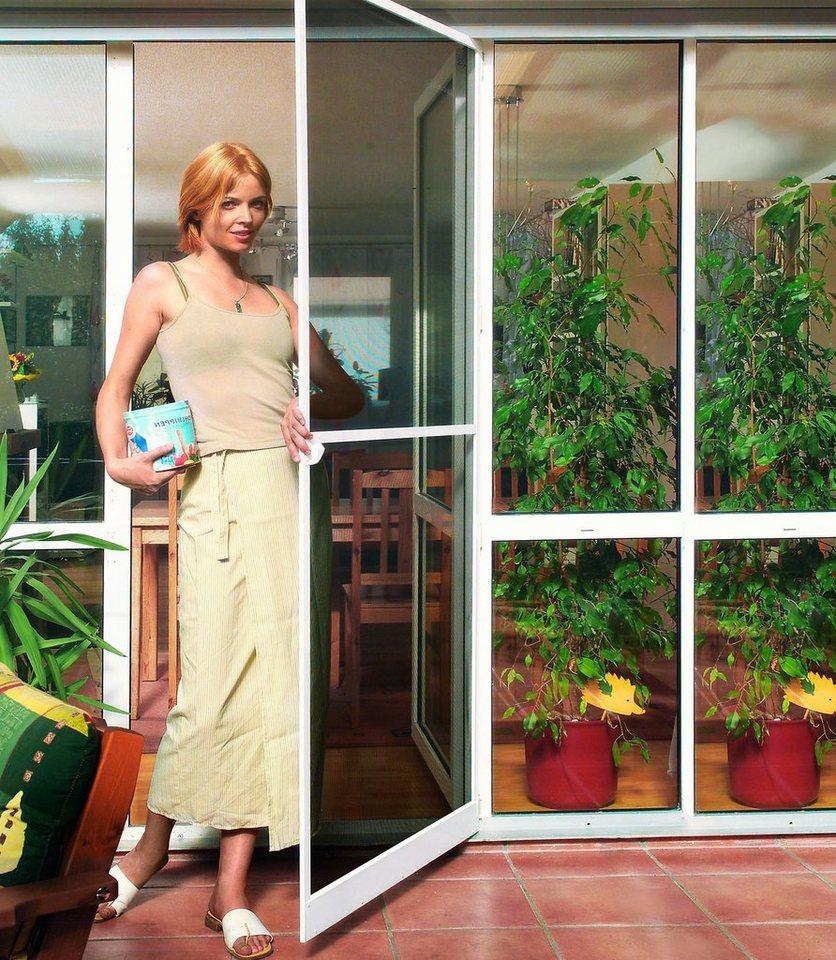 Komplett-Set: Insektenschutz-Tür »PLUS« 100 x 210 cm, weiß, individuell kürzbar
