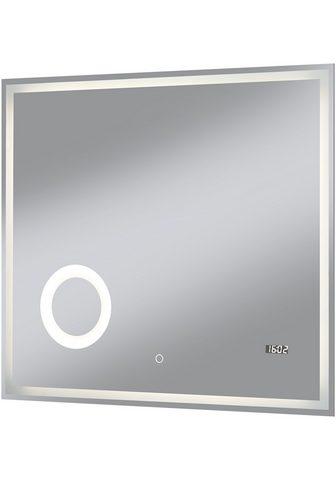 welltime LED-Lichtspiegel »Flex« BxH: 80 x 70 c...
