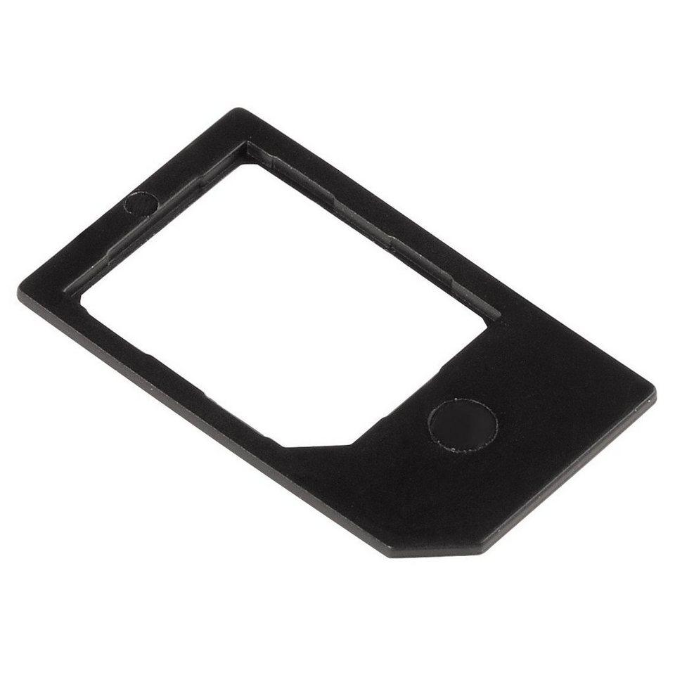 Hama Micro SIM-/SIM-Adapter in Schwarz