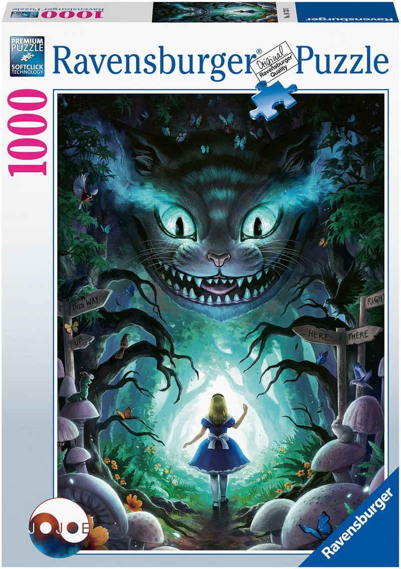 Ravensburger Puzzle »Abenteuer mit Alice«, 1000 Puzzleteile, FSC® - schützt Wald - weltweit; Made in Germany