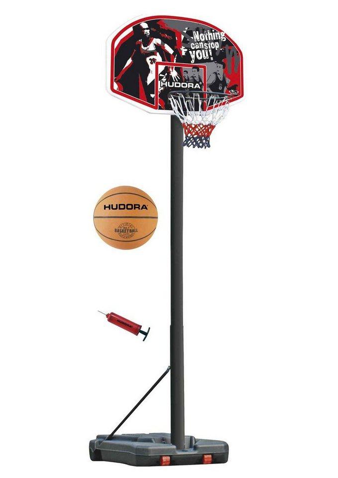 Basketballständer, Hudora, »Chicago« in schwarz