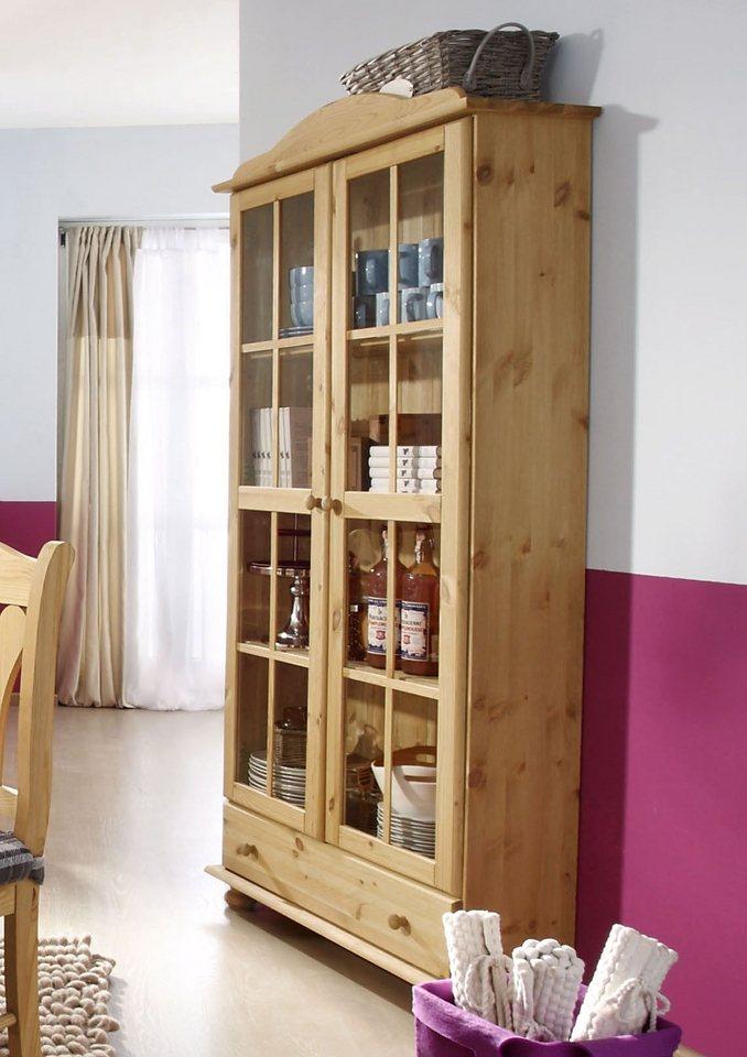 vitrine 2 t rig home affaire serie j tland otto. Black Bedroom Furniture Sets. Home Design Ideas