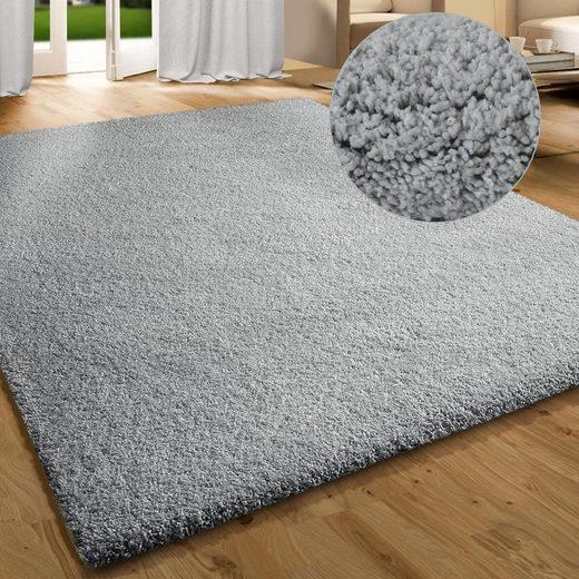 Hochflor-Teppich »Luxury«, Kubus, rechteckig, Höhe 30 mm, Extra flauschig