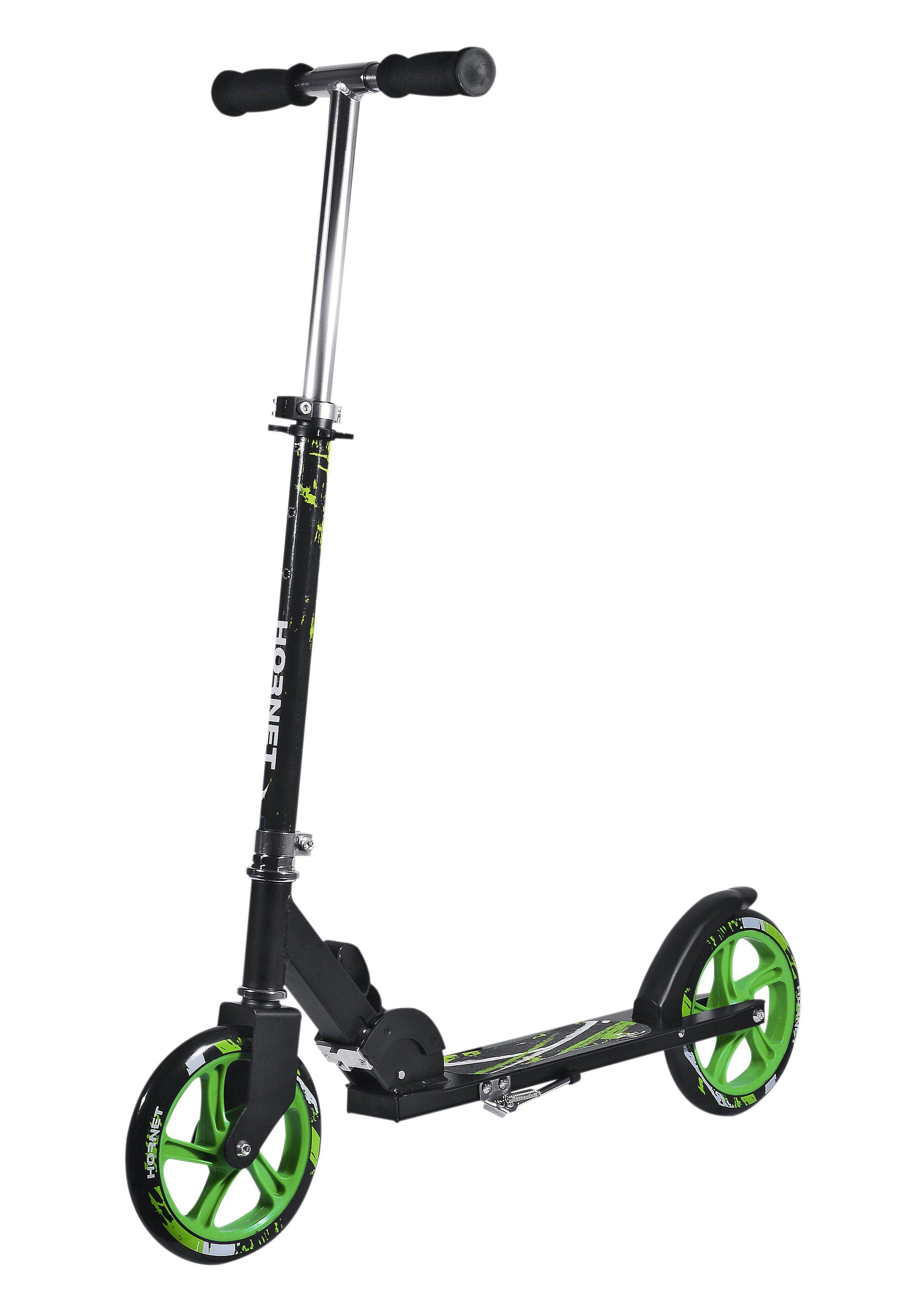 Alu-Scooter, Hudora, »Hornet 205«, schwarz-grün
