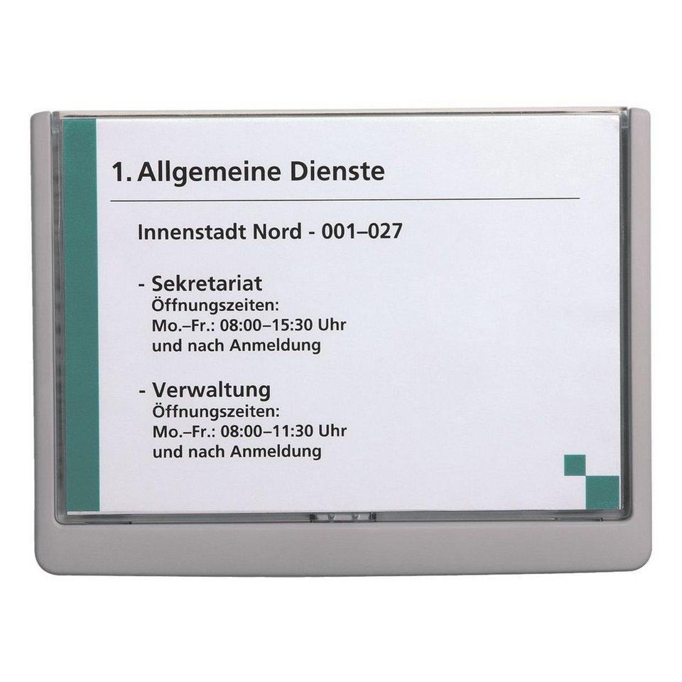 Durable Türschild »Click Sign« in graphit