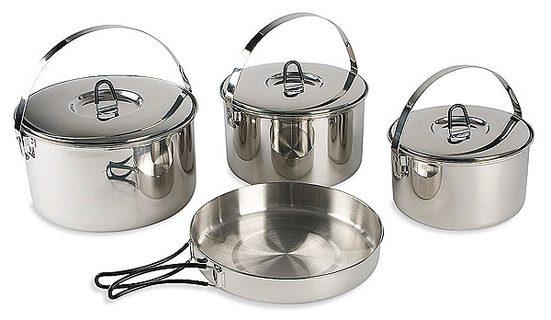 TATONKA® Camping-Geschirr »Family Cook Set L«