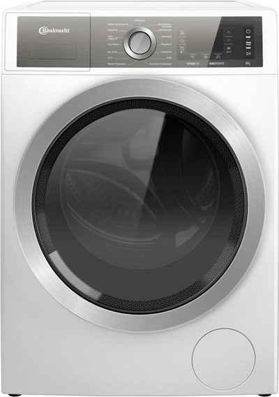 BAUKNECHT Waschmaschine B6 W845WB DE, 8 kg, 1400 U/min