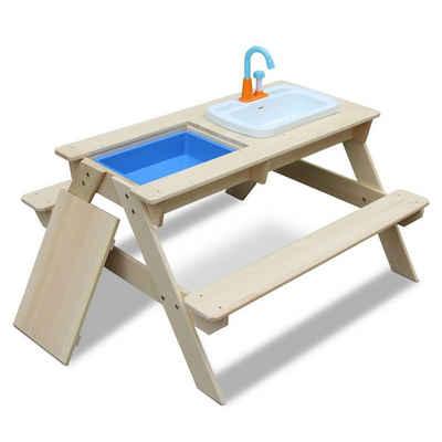 Coemo Spieltisch, Kindersitzgruppe und Sand-und Wasserspieltisch in einem! Picknicktisch
