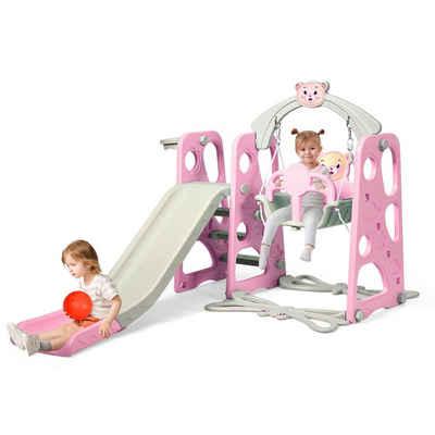 COSTWAY Rutsche »Kinder Gartenschaukel, Rutschbahn, Kinderrutsche«, für In- und Outdoor