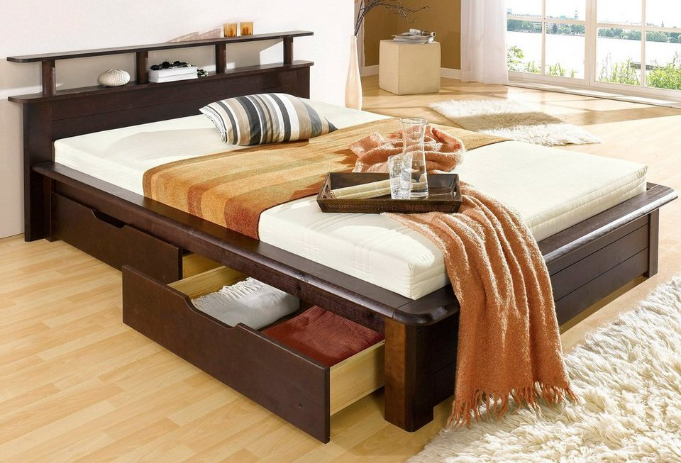 bett home affaire finja online kaufen otto. Black Bedroom Furniture Sets. Home Design Ideas